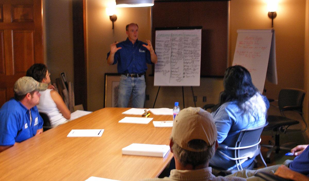 T. Lake Working Smarter Meeting
